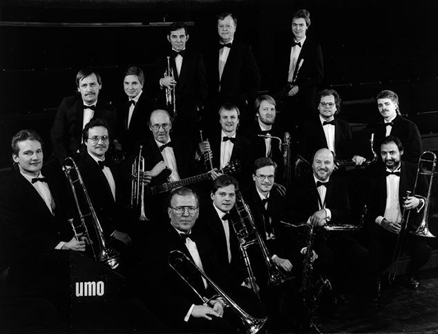 UMO Jazz Orchestra vuonna 1987